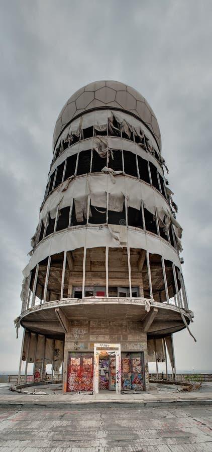 Teufelsberg Radar Station Near Berlin Stock Photo - Image of berlin, post:  37566646
