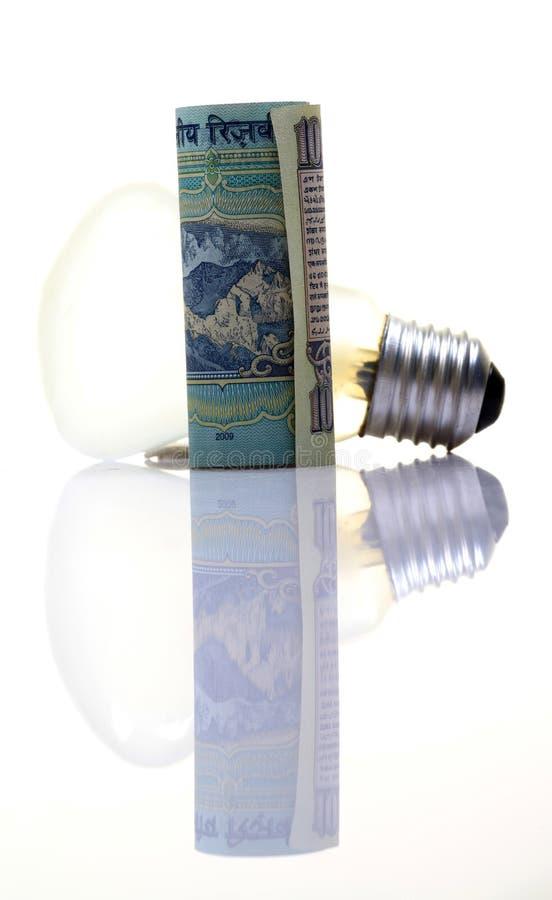Teure Elektrizität stockfoto