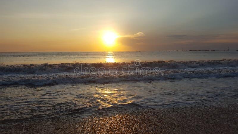 Teurer Sonnenuntergang lizenzfreie stockfotos