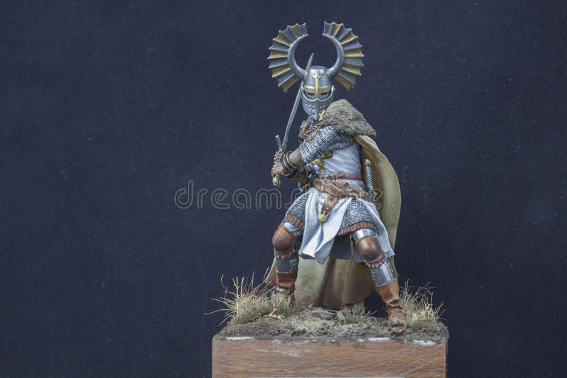 Teutonic knight stock image