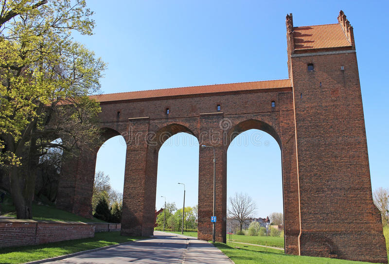 Download Teutonic Order Castle. Well Tower. Stock Image - Image: 30824811