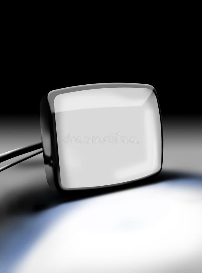A tevê monitora imagem de stock