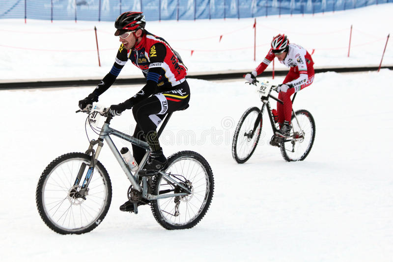 Teva On Snow Bike Criterium Editorial Photo