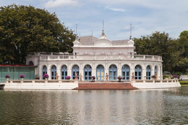 Tevaraj-Kanlai port på smällen PA-i slott arkivbilder