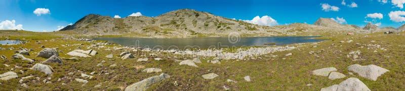 Tevno Lake Panorama Stock Photo