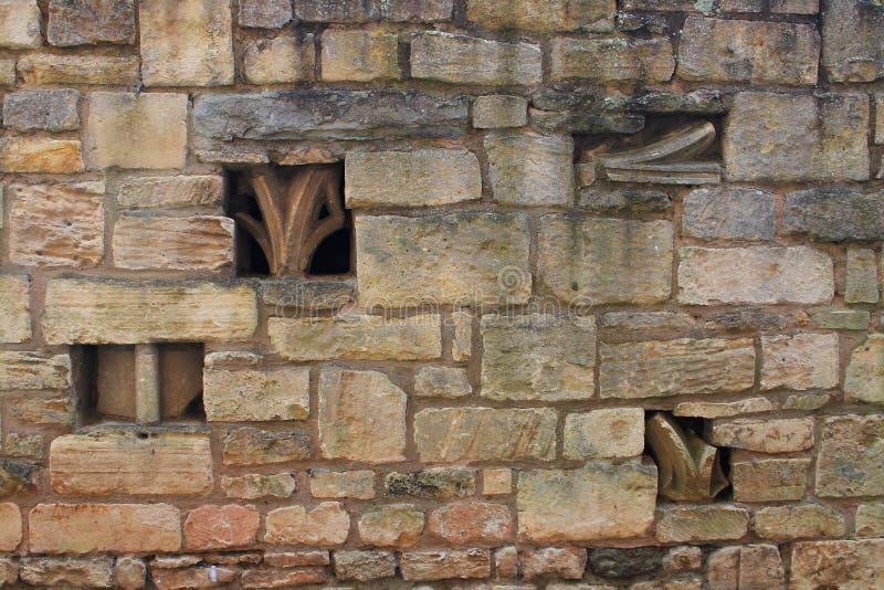 Tewkesbury修道院,英国,建筑细节 库存照片