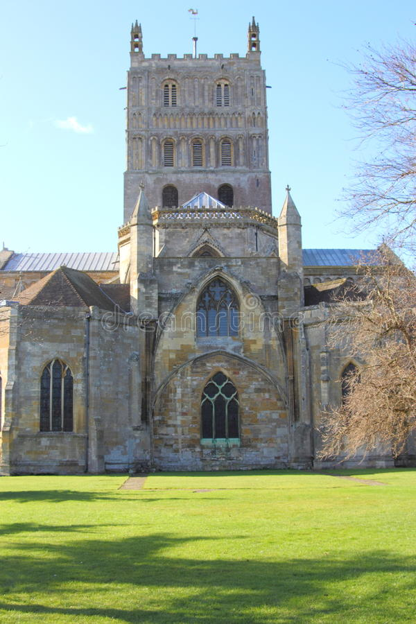 Tewkesbury Abbey Stock Photo