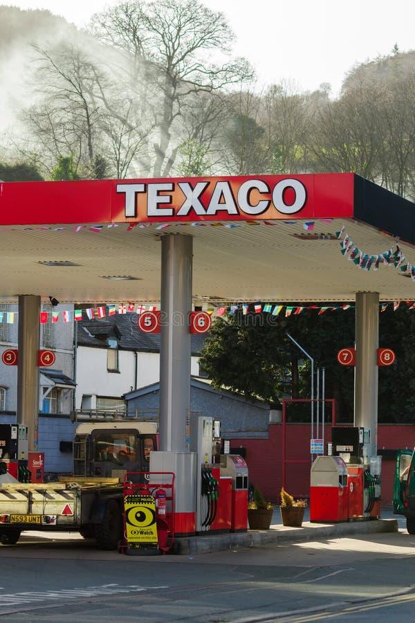 Texaco stacja paliwowa zdjęcia stock