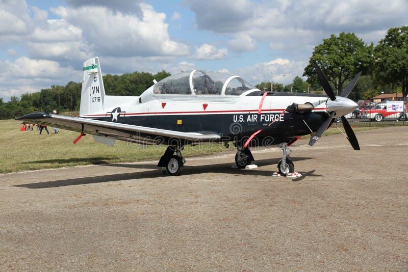 Texan de Beechcraft T-6 II foto de archivo