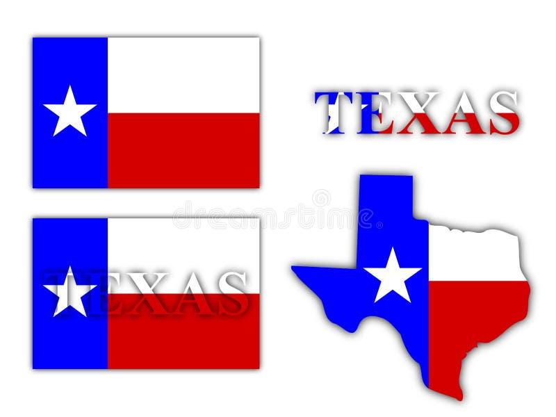 Texas stock illustratie