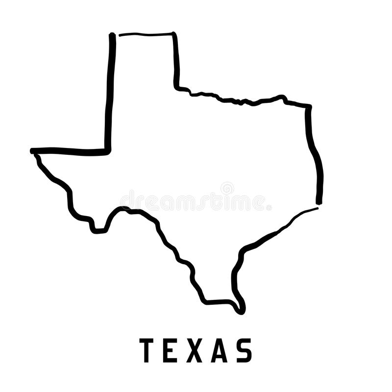 texas illustration libre de droits