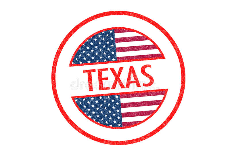 texas illustration stock