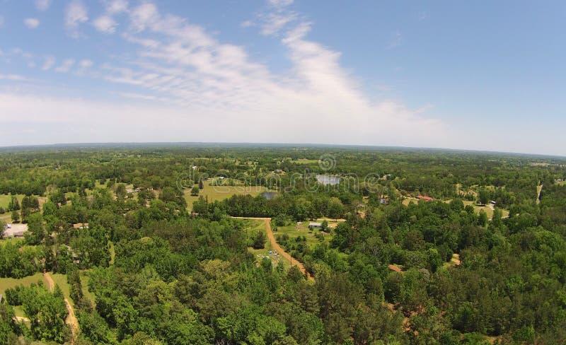 Texas Aerial Views do leste fotos de stock