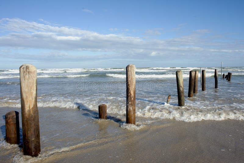 Texas Beach royaltyfria foton