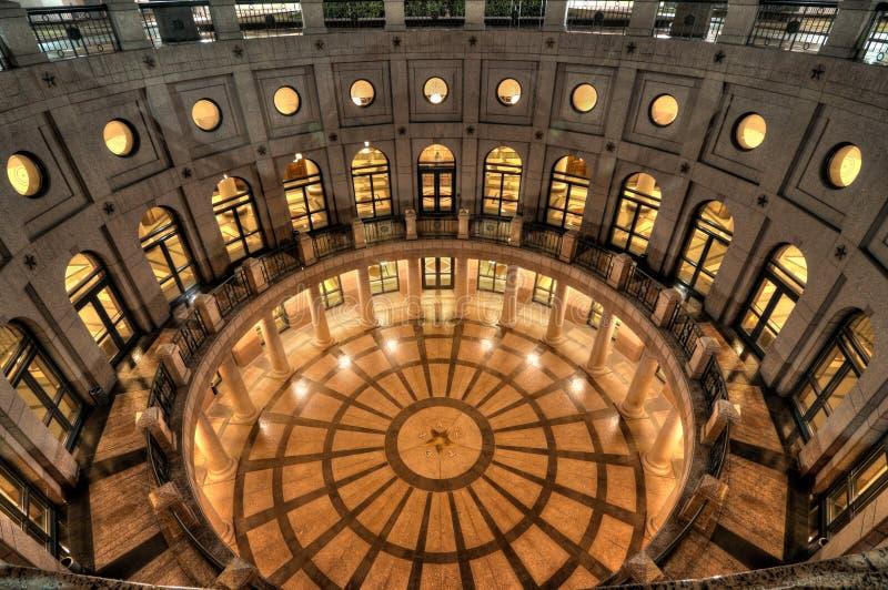Texas Capital Rotunda photographie stock