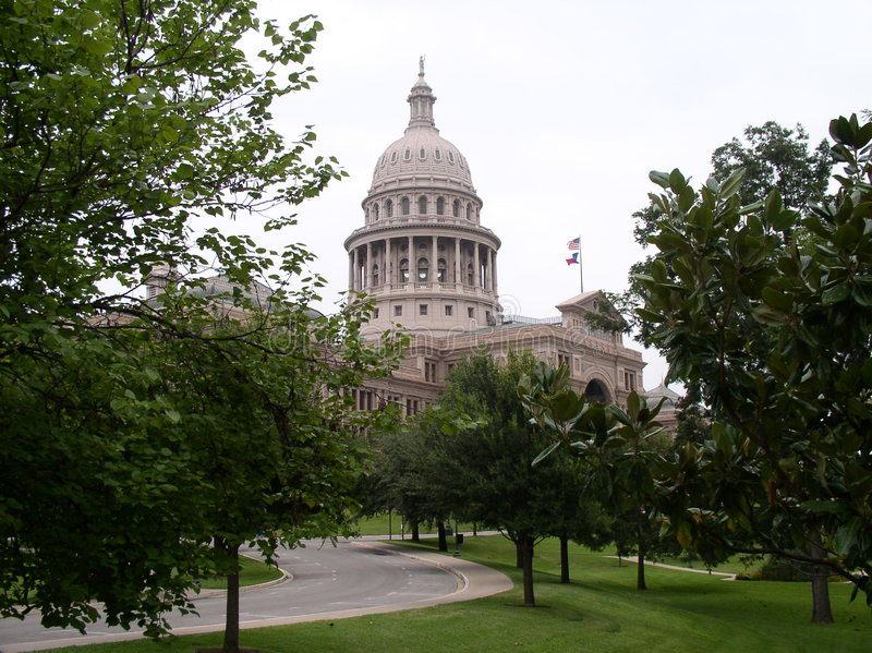 Download Texas Capitol stock image. Image of building, capitol, trees - 122555