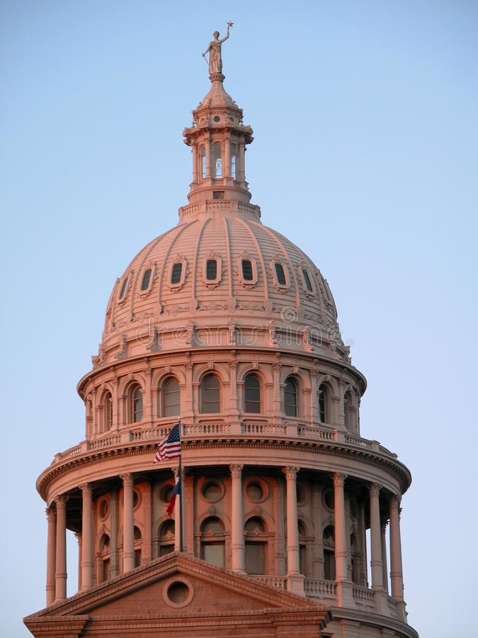 Texas Capitol Dome stock image