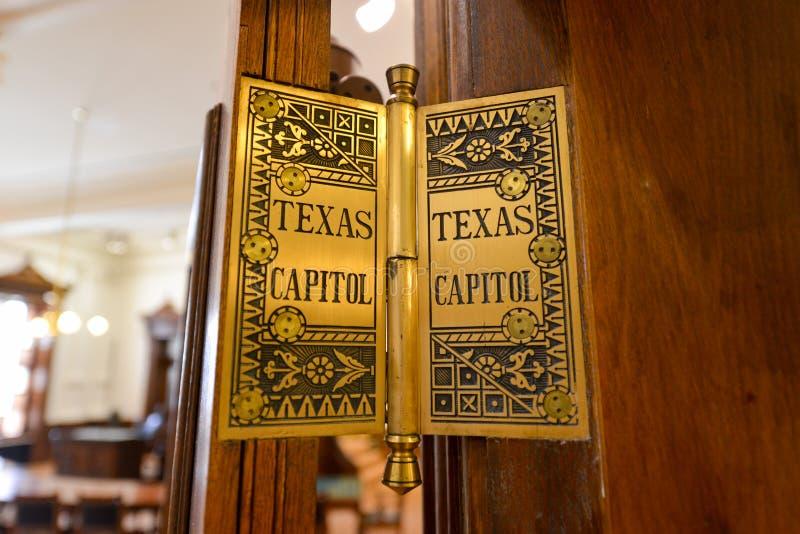 Texas Capitol Hinge royalty-vrije stock foto's