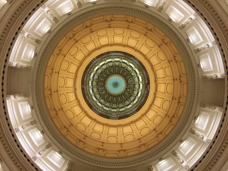 Texas Capitol Rotunda Dome royalty-vrije stock foto