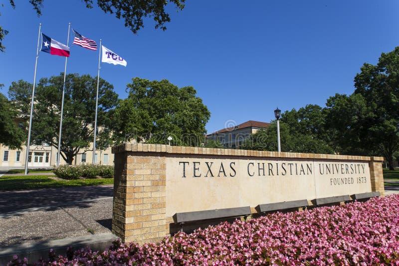Texas Christian University royalty-vrije stock fotografie