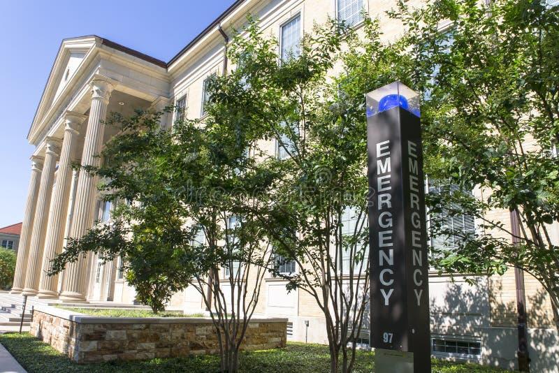 Texas Christian University fotografie stock libere da diritti