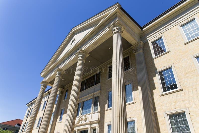 Texas Christian University lizenzfreies stockfoto