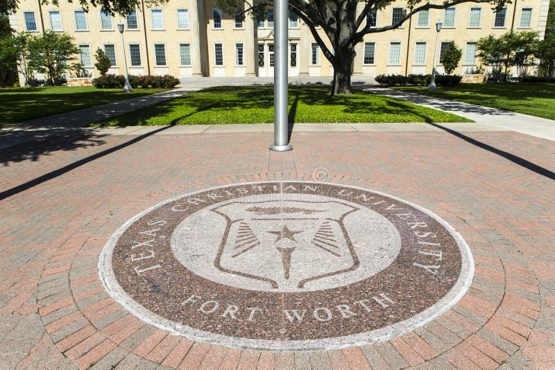 Texas Christian University royalty-vrije stock foto's