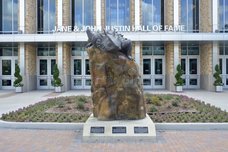 Texas Christian University Hall de la renommée photo libre de droits