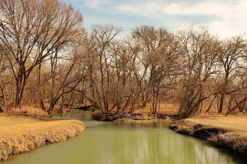 Texas Creek lizenzfreie stockfotografie