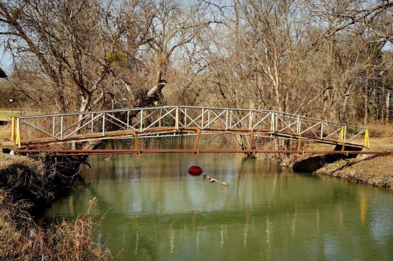 Texas Creek Bridge II stockfotografie