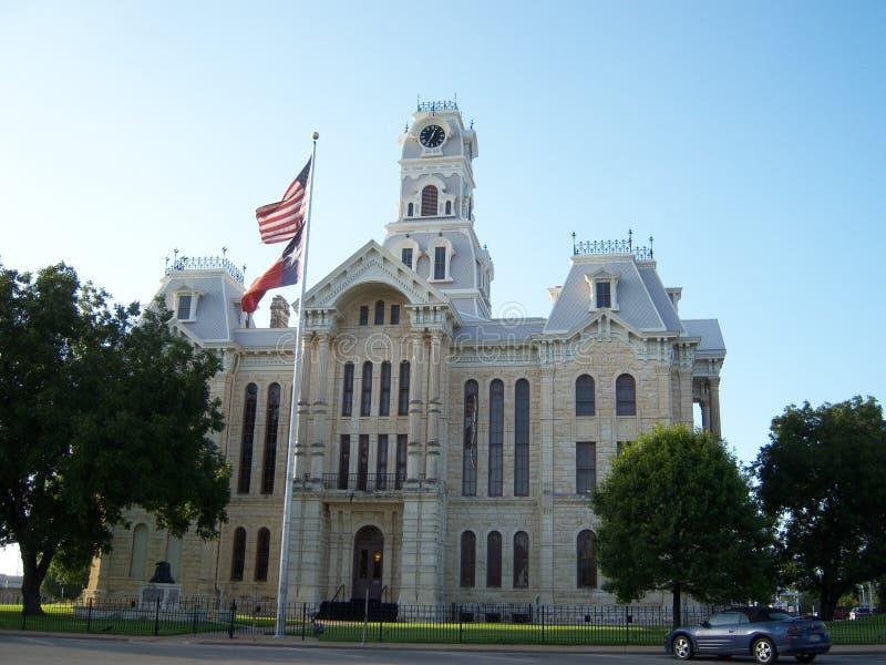Texas domstolsbyggnad arkivbilder