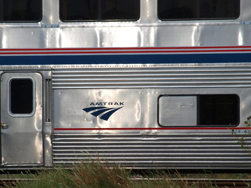 Texas Eagle Departs Dallas Union Station photos libres de droits