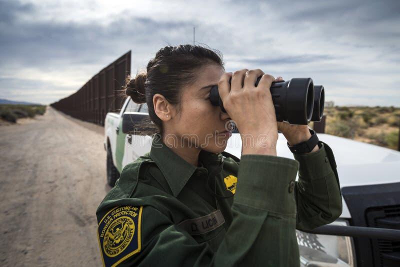 Texas - El Paso - a beira foto de stock