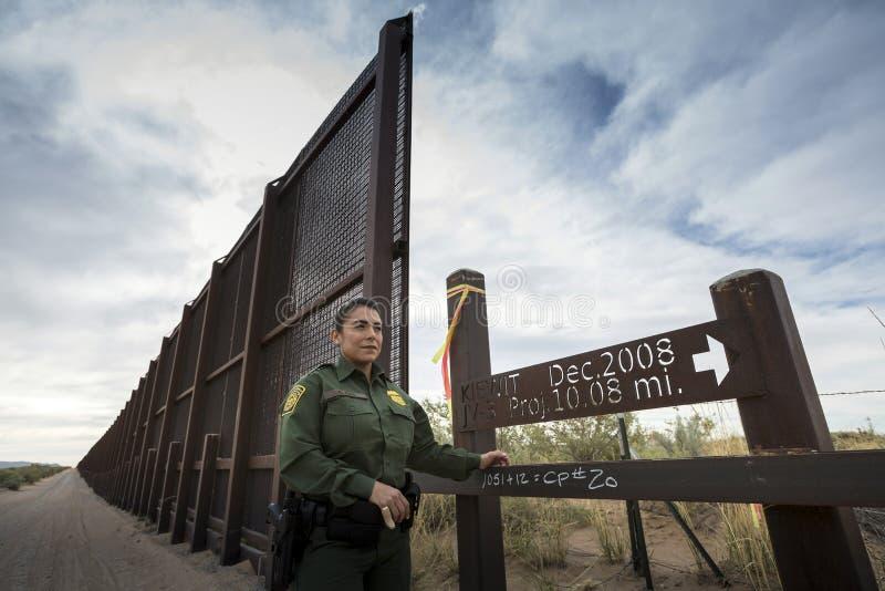 Texas - El Paso - The border. With mexico and the border patrol royalty free stock photos