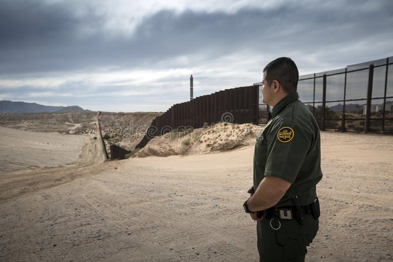 Texas - El Paso - The border. With mexico and the border patrol royalty free stock photography
