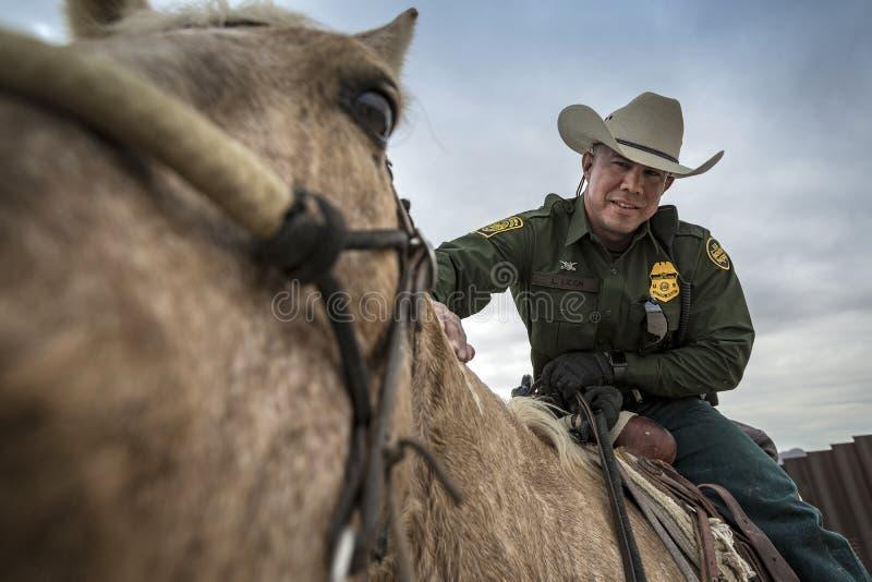 Texas - El Paso - die Grenze lizenzfreie stockfotografie
