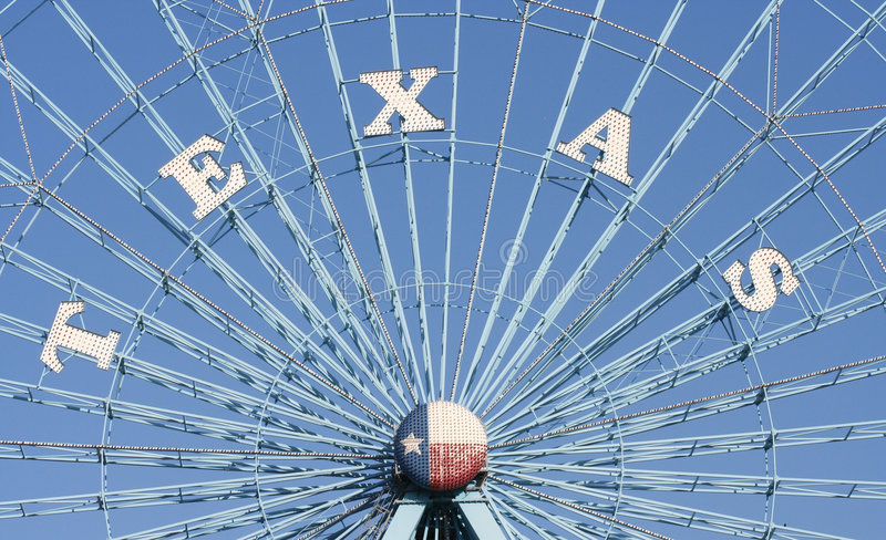Texas Ferris Wheel. They say everything is bigger in Texas, including this ferris wheel which runs at the State Fair. There is a lot of pride in Texas about the