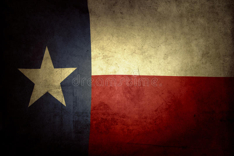 Texas Flag stock foto