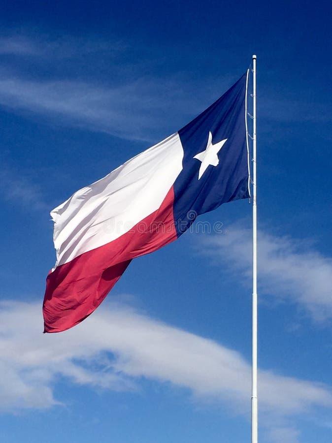 Texas Flag royalty-vrije stock fotografie
