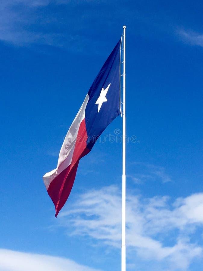 Texas Flag royalty-vrije stock foto's