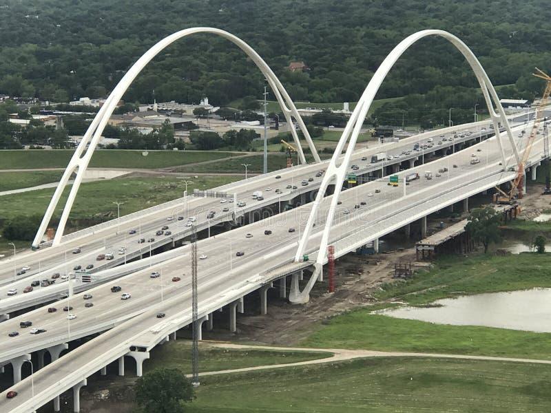 Texas Freeway fotografie stock