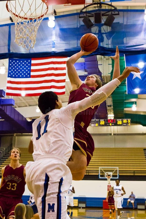 Texas High School Basketball images libres de droits