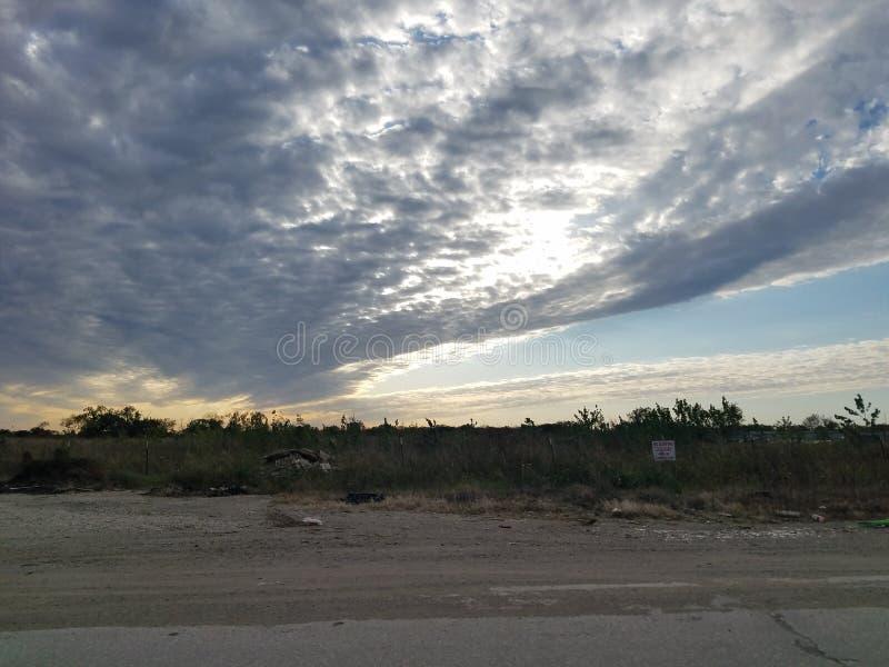 Texas-Himmel lizenzfreies stockbild