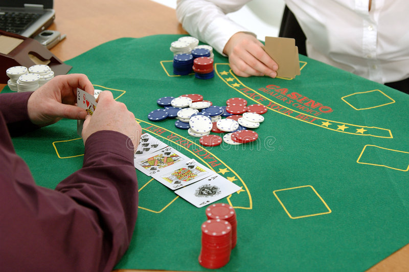 Download Texas Hold um stock photo. Image of casino, suit, bright - 102244