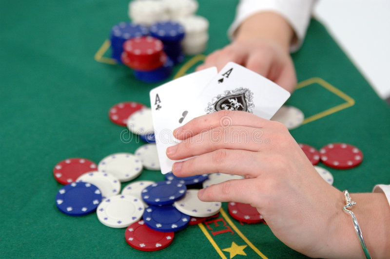 Download Texas Hold um stock photo. Image of people, chips, strip - 102270