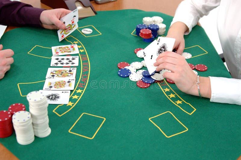Texas Hold um stock image