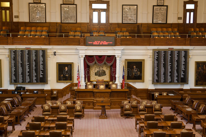 Download The Texas House Of Representatives Chamber Editorial Stock Photo    Image Of Blue, Dome