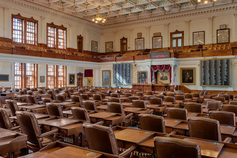 Texas House of Representatives Chamber stock photos