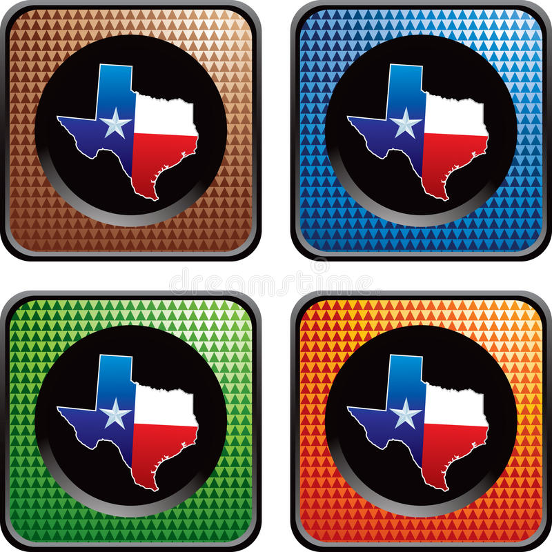 Download Texas Icon On Multicolored Checkered Web Buttons Stock Vector - Illustration of angelo, graphic: 11600506
