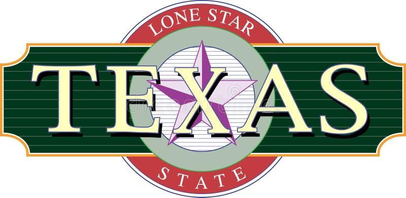 Texas-Ikone stock abbildung